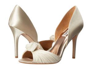 pantofi din satin Badgley Mischka
