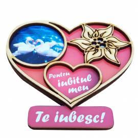 magnet cu inimioara pentru iubit
