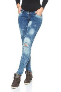 jeans dama rupti