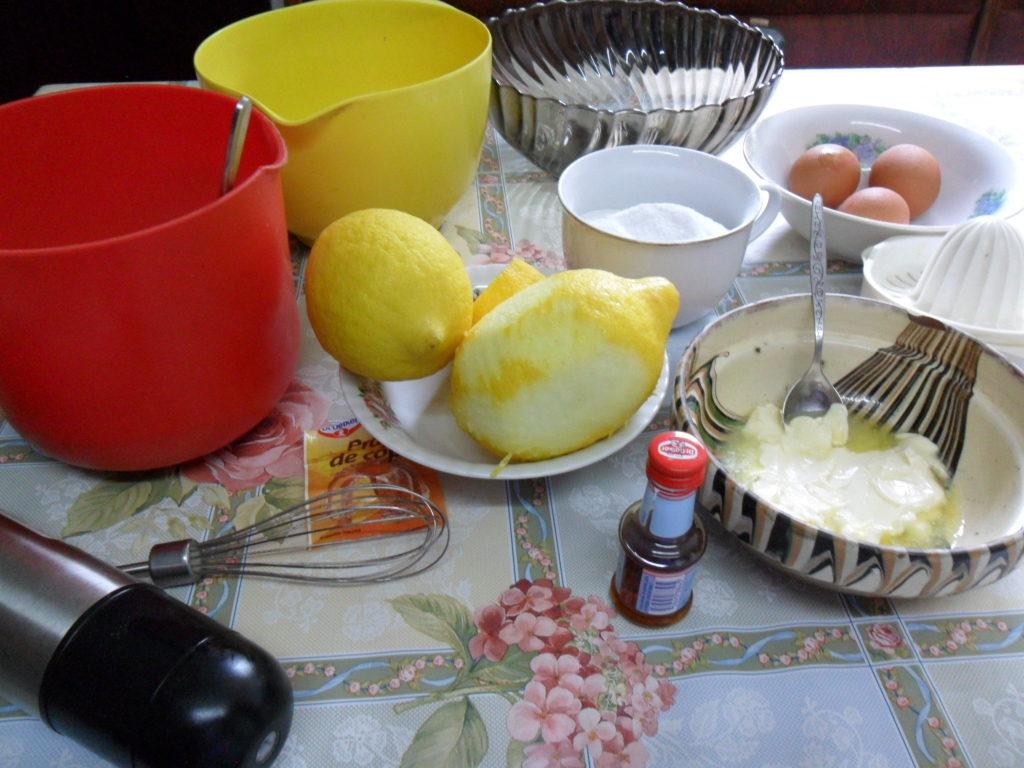 preparare tort simplu cu lamaie